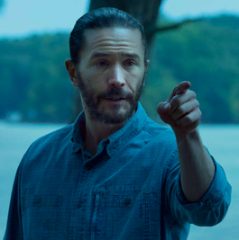 Tom Pelphrey as Ben Davis in Netflix series Ozark