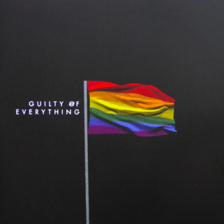 Guilty of Everything album cover, by Nothing, 2015 limited edition for LGBT+ charities